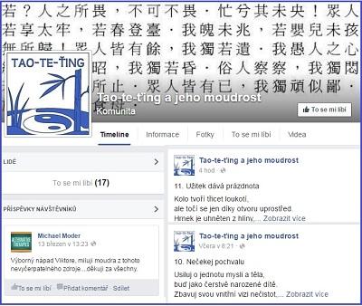 Facebookov� strana o Tao-te-�ingu